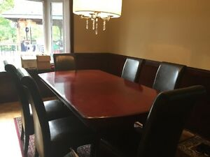 Dining Table - Seats up to 12! (Reduced to sell) Gatineau Ottawa / Gatineau Area image 1