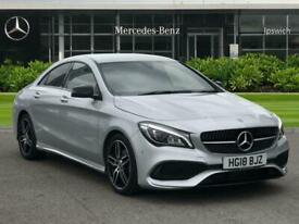 image for 2018 Mercedes-Benz CLA CLASS CLA 180 AMG Line 4dr Saloon Petrol Manual