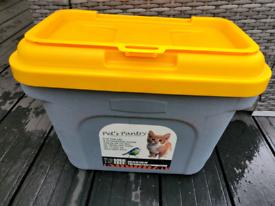 Dog/Cat food storage box