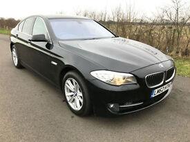 2012 62 BMW 520 2.0TD EFFICIENT DYNAMICS DIESEL BLACK 4 DOOR SALOON