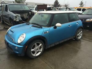 2002 TO 2008 MINI COOPER PARTING OUT PARTS ONLY
