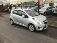 2012/12 Chevrolet Spark 1.2 LT 5dr h/b High Spec £2995