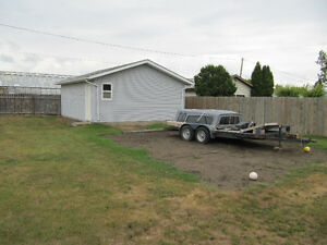 Building Lot with Double Garage