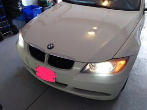 2007 BMW 328i white 4 door for sale