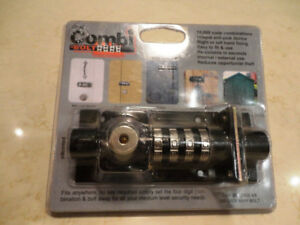 Combi Bolt Multi Use Combination Dead Bolt New in the package