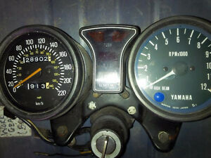 Yamaha xs850 and 750 intruments guages