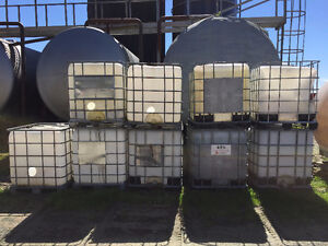 Various Poly Tanks / Used Totes For Sale