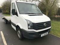 2015 15 VOLKSWAGEN CRAFTER CAR TRANSPORTER 2.0TDI 110BHP 1 OWNER FULL HISTORY