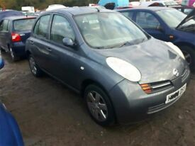 2003 NISSAN MICRA SE NOW BREAKING FOR PARTS