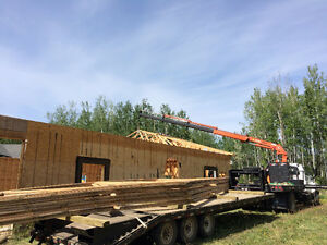 PICKER TRUCK FOR HIRE !!! HOIST SHEDS, HOT TUBS, BOULDERS ECT. Strathcona County Edmonton Area image 3