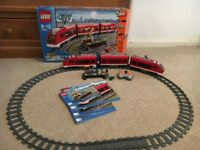 Lego RC train set 7938 and extra RC track pack 7499