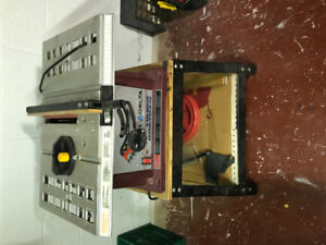 """Table saw - Delta 10"""" basic bench saw - $80"""