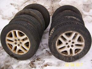 pneus avec mag (peu de millage)