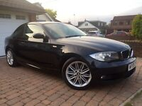 BMW 1 Series 2.0L 120D M Sport In Prestige Condition! 1 Year MOT/Full BMW Service/HPI Clear