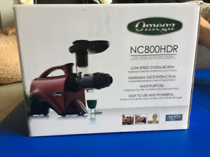 Omega NC800HDR Nutrition Centre Juicer