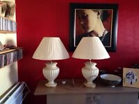 SOLD - Large Table Lamps