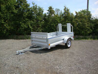 Galvanized Utility Trailers – In Stock Now at Miska Trailers