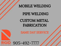 Onsite or In-Shop Welding Services ✹ Custom Metal Fabrication