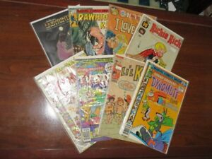 Vintage Kid's Comic Book Collection Lot