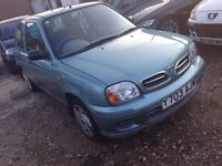 Nissan Micra cheap MOTed 250