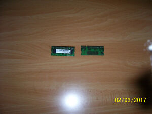 PS2-3200S 256 MB RAM cards