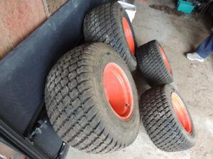 kabota tires and rims