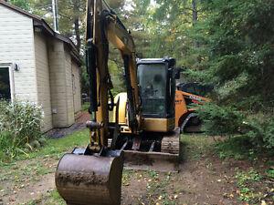 Cat305CCR Excavator