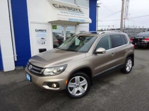 2016 Volkswagen Tiguan Comfortline AWD, Leather, Moonroof, Apple
