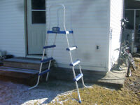 LADDER FOR ABOVE GROUND POOL