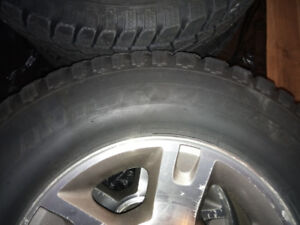 Winter Quest winter tires 235/75/16 on Ford Escape rims