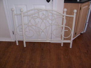 Single Bed Headboard and Foot Board For sale