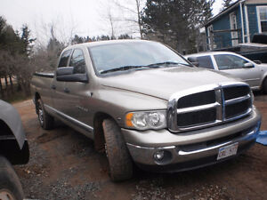 2003 Dodge Power Ram 2500 4 door Pickup Truck