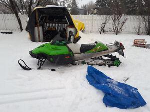 03 arctic cat m900 sled