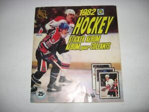 Autocolants Stickers Hockey opc panini 1982 @ 1993+Albums