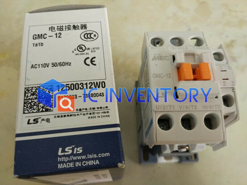 Brand NEW LS LG Industrial Systems MEC AC contactor GMC-12 220