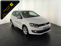 WHITE 2013 63 VOLKSWAGEN POLO MATCH EDITION TDI 1 OWNER FULL VW HISTORY FINANCE