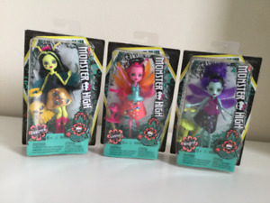 Monster High - Garden Ghouls - NIB - Winged Critters