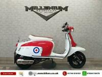 2018 (18) Royal Alloy GT125 SCOOTER ONE OWNER with only 2131MILES