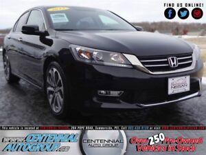 Honda Accord Sedan Sport   2.4L   Bluetooth   Backup Camera   AC