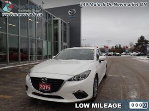 2015 Mazda Mazda3 GX - Bluetooth - $94.18 B/W