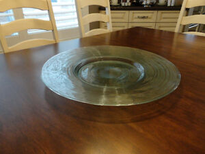 "20"" Diameter Perfect Shape Decorative Glass Bowl / Platter Kitchener / Waterloo Kitchener Area image 3"