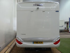 HYMER T SL 668 / 2016 / 3.O LTR / AUTO / GERMAN / 2 SINGLE BEDS / END WASHROOM