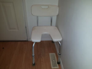Free shower chair.