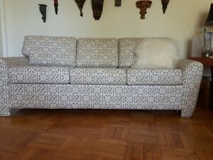 Three seater sofa with sofa bed