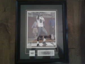 Terrell Owens matted framed 8x10 picture- Philadelphia Eagles
