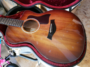 Taylor Grand Auditorium All-Koa Acoustic/Electric Guitar