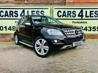 2010 MERCEDES ML300 CDi BlueEFFICIENCY Sport 5dr Tip Auto ONLY 87000 MILES FSH