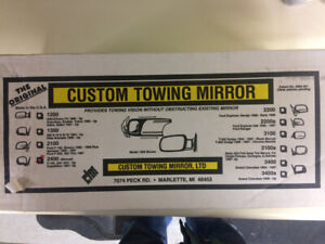 Custom Towing Mirrors for Ford F150, F250, Expedition