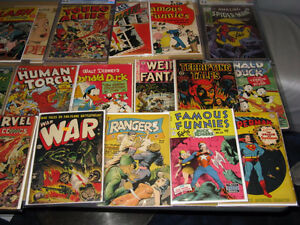Looking for 10 Cent Comic Books from the 1930s, 1940s & 1950s