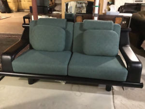 Love seats (2) and coffee table